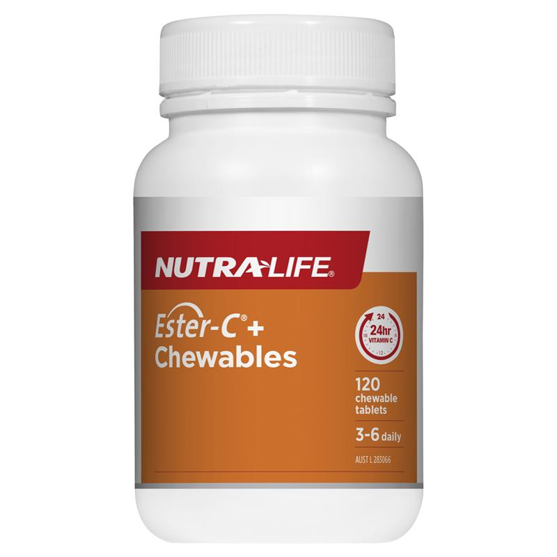 Nutra-Life Ester-C+ Chewables