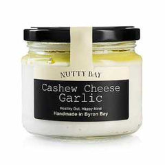 Nutty Bay Garlic Cashew Cheese - Go Vita Batemans Bay