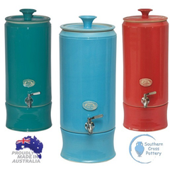 Southern Cross Pottery Ultra Slim Water Filter 10L - Please contact store to purchase (02) 4472 9737 - Go Vita Batemans Bay