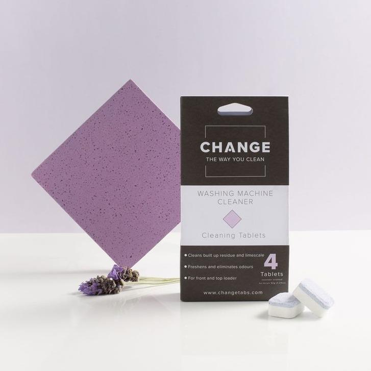 CHANGE Washing Machine Cleaning Tablets