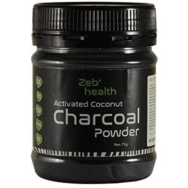 Zeb Health Steam Activated Coconut Charcoal - Go Vita Batemans Bay