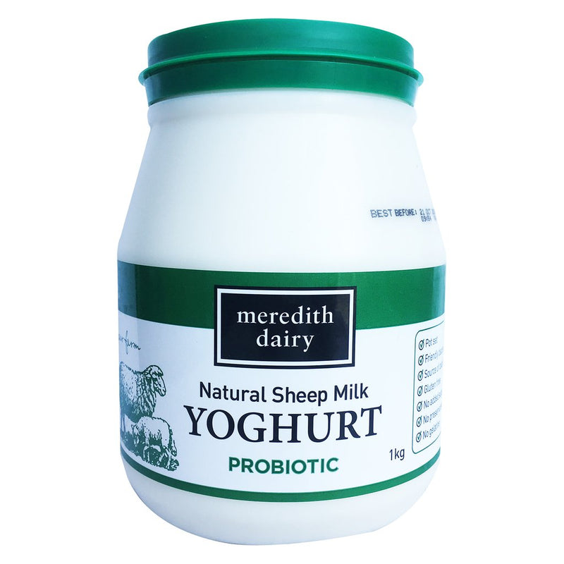 Meredith Dairy Sheeps Milk Yoghurt - Go Vita Batemans Bay