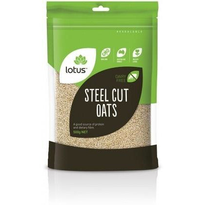Lotus Steel Cut Oats - Go Vita Batemans Bay