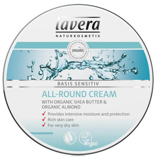 Lavera Basis All-Round Cream - Go Vita Batemans Bay