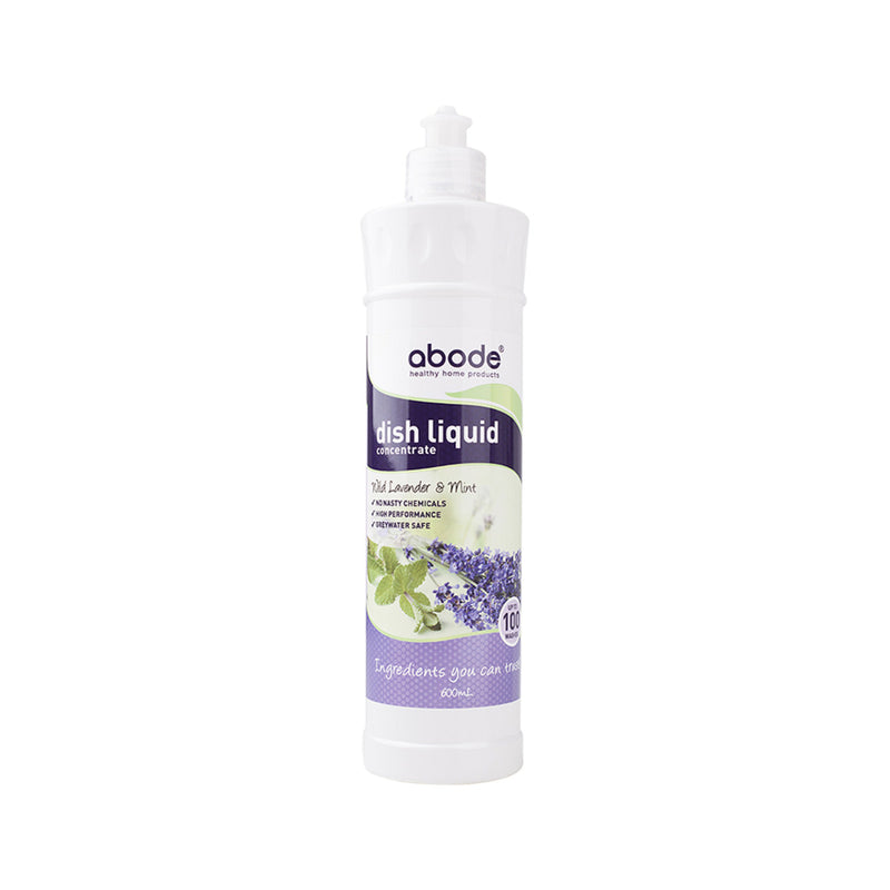 Abode Dish Wash Liquid Lavender & Mint - Go Vita Batemans Bay