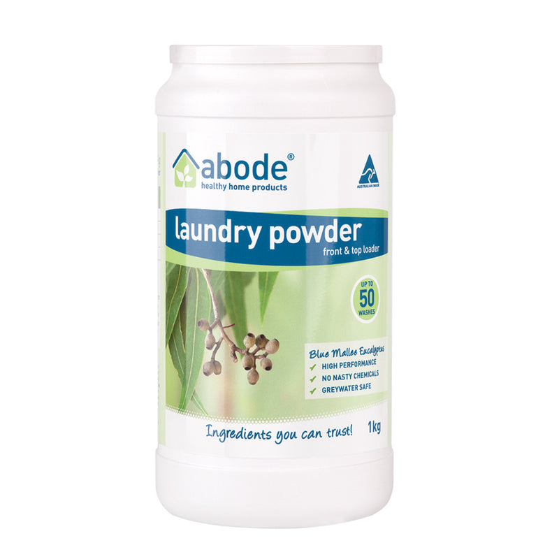 Abode Laundry Powder Eucalyptus - Go Vita Batemans Bay
