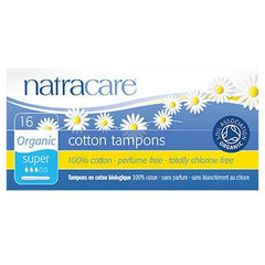 NatraCare Super Tampons with Applicator - Go Vita Batemans Bay