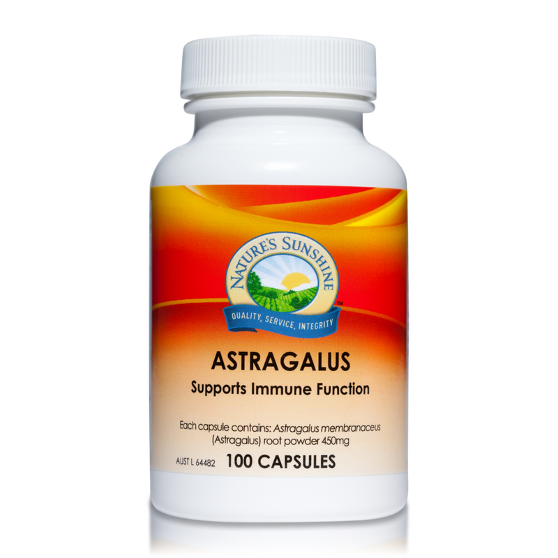 Nature's Sunshine Astragalus 450mg - Go Vita Batemans Bay
