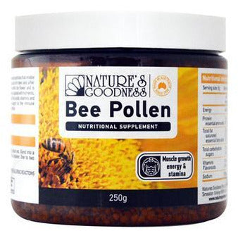 Nature's Goodness Bee Pollen Granules - Go Vita Batemans Bay