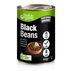 Absolute Organic Black Beans - Go Vita Batemans Bay