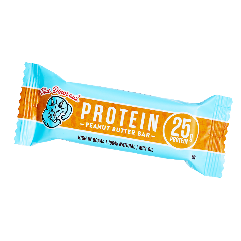 Blue Dinosaur Collagen Protein Bar Peanut Butter - Go Vita Batemans Bay