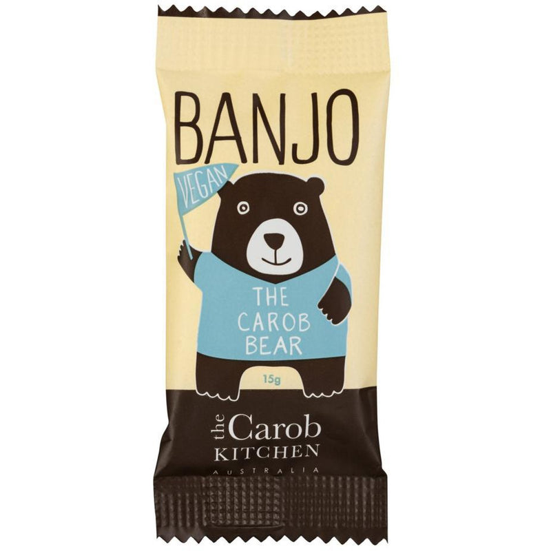 The Carob Kitchen - Banjo The Carob Bear - Vegan - Go Vita Batemans Bay