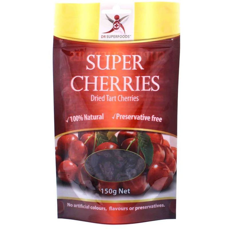Dr Superfoods Dried Tart Cherries - Go Vita Batemans Bay