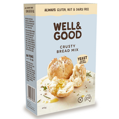 Well & Good Gluten Free Crusty Bread Mix