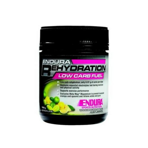 Endura Rehydration Low Carb Fuel Lemon Lime - Go Vita Batemans Bay
