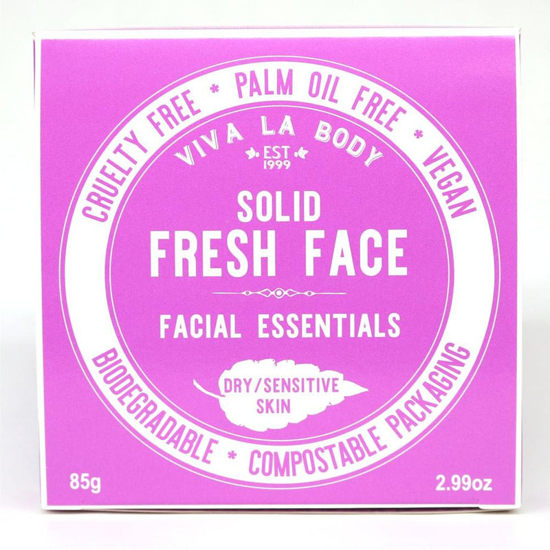 Viva La Body Solid Fresh Face Essentials - Dry/Sensitive Skin - Go Vita Batemans Bay