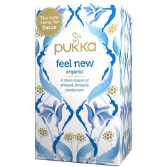 Pukka Feel New Tea (previously known as Detox Tea) - Go Vita Batemans Bay