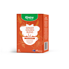 Kintra Foods Ginger Golden Blend Tea - Go Vita Batemans Bay