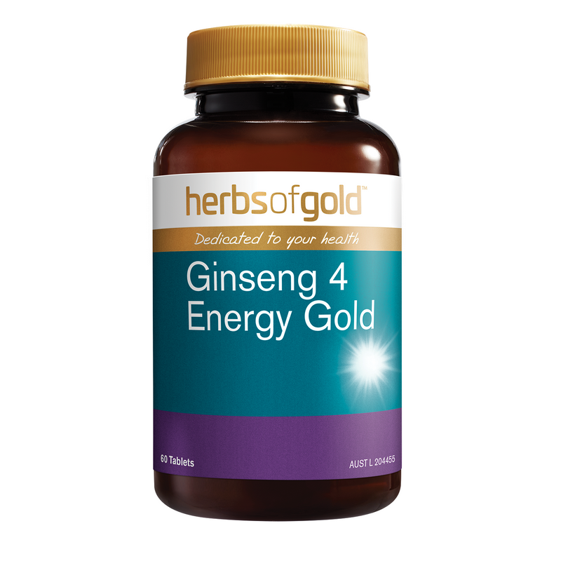 Herbs of Gold Ginseng 4 Energy Gold - Go Vita Batemans Bay