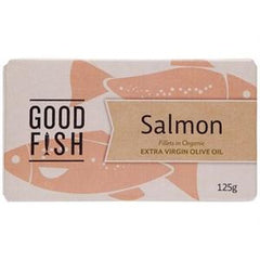 Olive Green Organics Salmon in Extra Virgin Olive Oil - Go Vita Batemans Bay