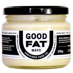 Undivided Food Co Good Fat - Mayo - Go Vita Batemans Bay