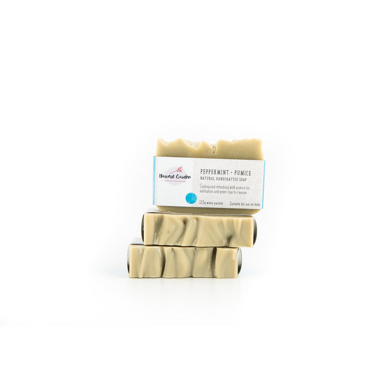 Harvest Garden Peppermint & Pumice Soap - Go Vita Batemans Bay