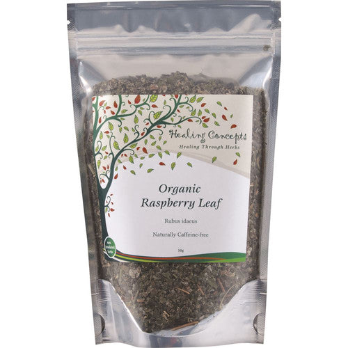 Healing Concepts Organic Raspberry Leaf Tea - Go Vita Batemans Bay
