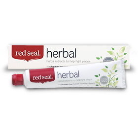 Red Seal Toothpaste - Herbal - Go Vita Batemans Bay