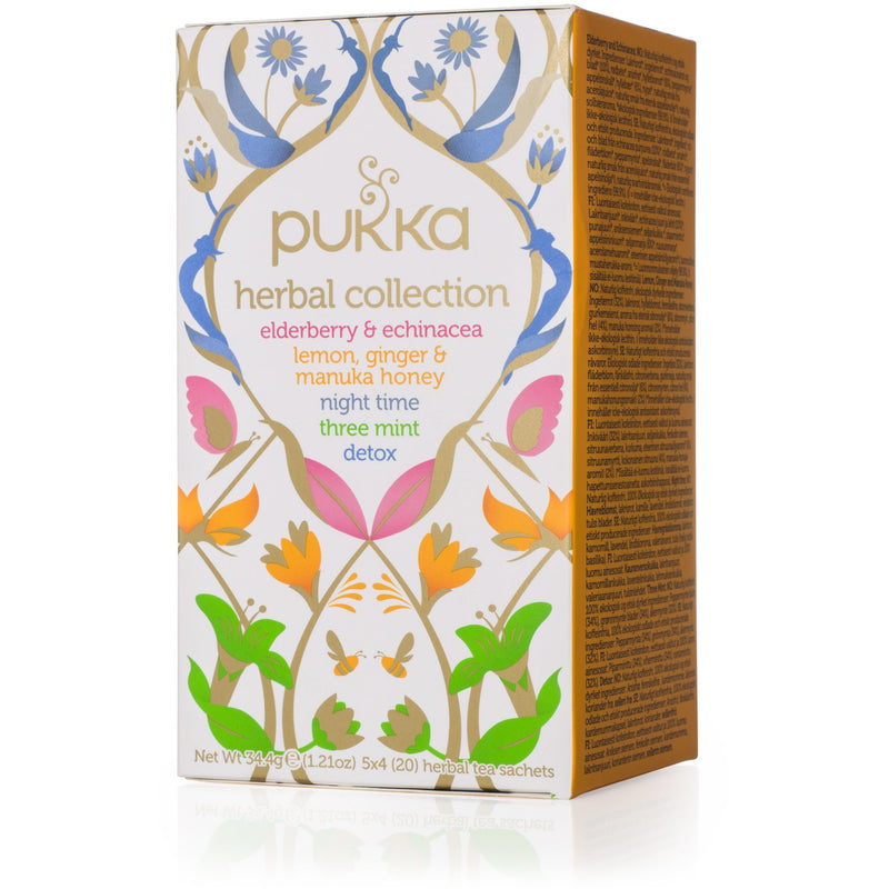 Pukka Herbal Collection Mixed Tea - Go Vita Batemans Bay