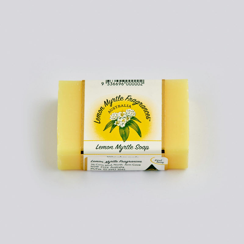 Lemon Myrtle Fragrances Lemon Myrtle Soap - Go Vita Batemans Bay