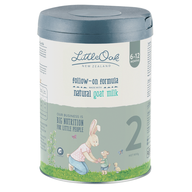 Little Oak Natural Goat Milk Follow-On Formula - Stage 2 (6-12 months)