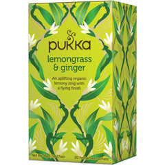 Pukka Lemongrass & Ginger Tea - Go Vita Batemans Bay
