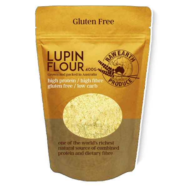 Raw Earth Produce Lupin Flour - Go Vita Batemans Bay