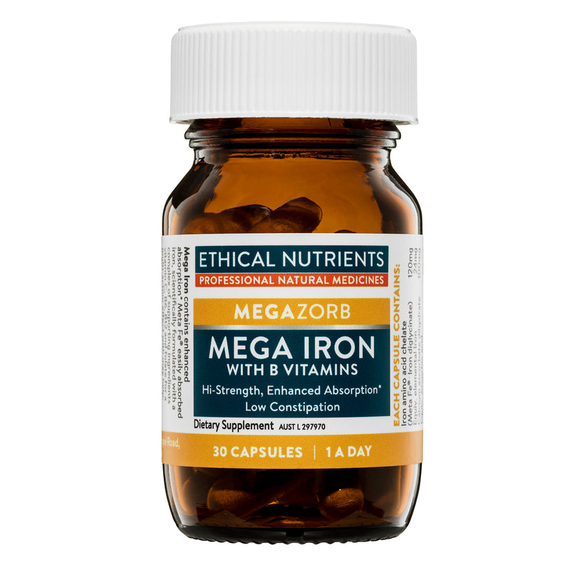 Ethical Nutrients Mega Iron - Go Vita Batemans Bay