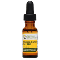 Equinox Botanicals Mullein Garlic Ear Oil - Go Vita Batemans Bay