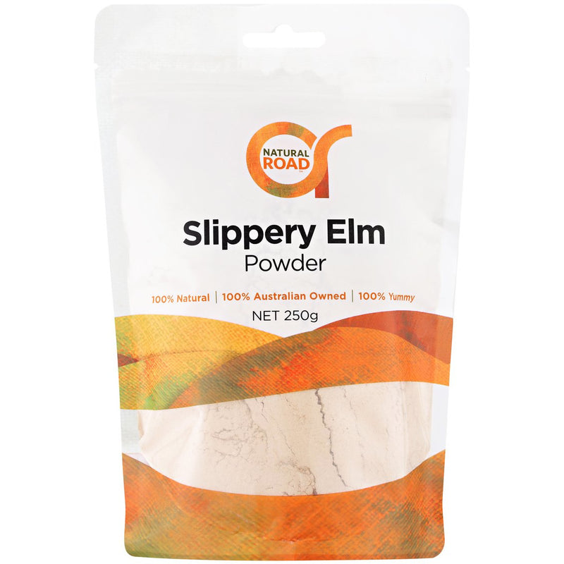 Natural Road Slippery Elm Powder - Go Vita Batemans Bay