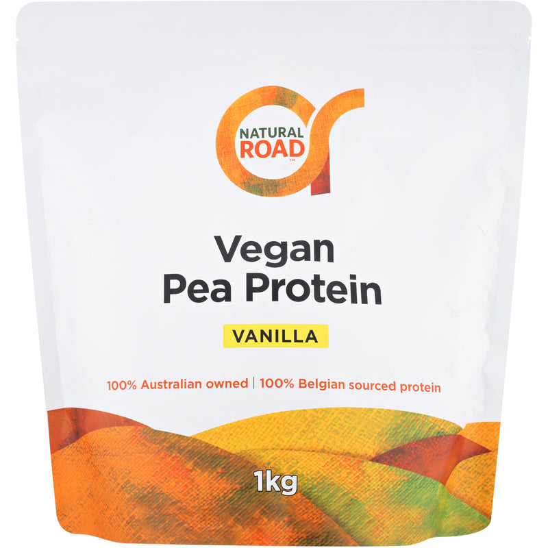 Natural Road Plant Protein - Vanilla - Go Vita Batemans Bay