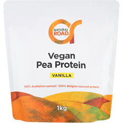 Natural Road Pea Protein Vanilla - Go Vita Batemans Bay
