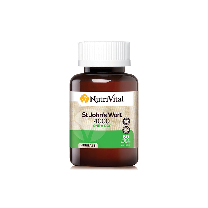 NutriVital St Johns Wort 4000mg - Go Vita Batemans Bay