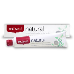 Red Seal Toothpaste - Natural - Go Vita Batemans Bay