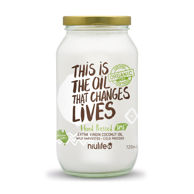 Niulife Organic Coconut Oil - Go Vita Batemans Bay