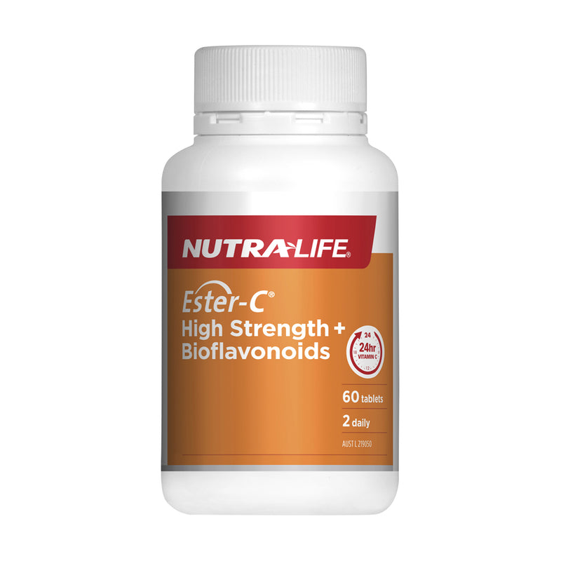 Nutra-Life Ester-C High Strength + Bioflavonoids