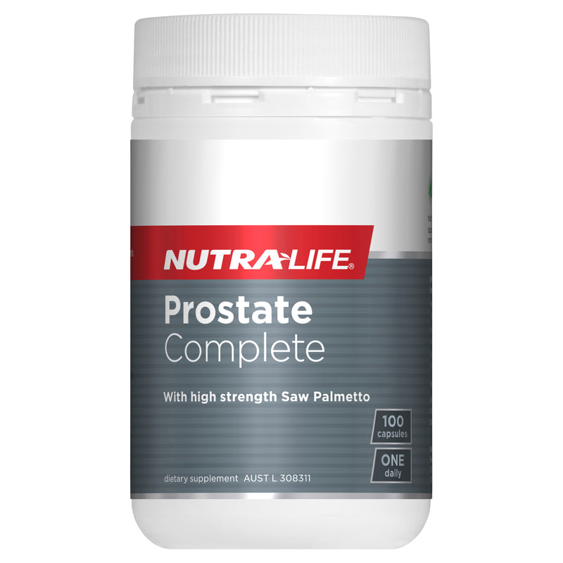Nutra-Life Prostate Complete High Strength - Go Vita Batemans Bay