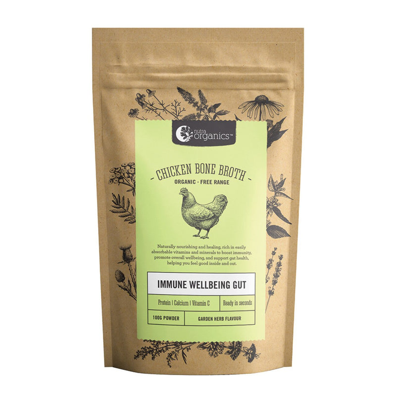 Nutra Organics Chicken Broth - Garden Herb