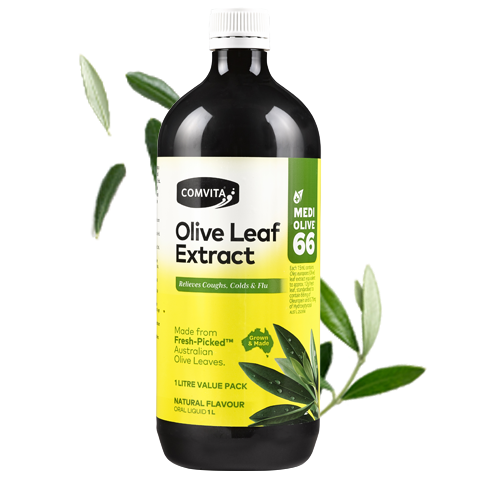 Comvita Olive Leaf Extract Natural Flavour - Go Vita Batemans Bay