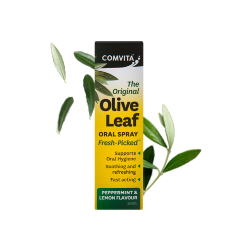 Comvita Olive Leaf Oral Spray Peppermint & Lemon - Go Vita Batemans Bay