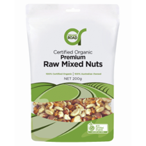 Organic Road Raw Mixed Nuts