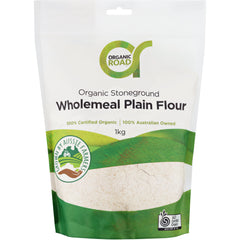 Organic Road Wholemeal Wheat Flour - Go Vita Batemans Bay