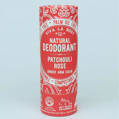 Viva La Body Natural Deodorant - Patchouli Rose - Go Vita Batemans Bay