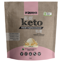 Proganics Keto Meal Replacement - Vanilla - Go Vita Batemans Bay
